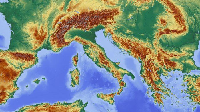 Europe, Map